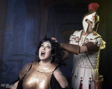 fred and elle perseus and medusa