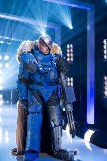 """COSPLAY MELEE -- """"A Night at the Space Opera"""" Episode 101 -- Pictured: Justin """"Fred"""" Reed -- (Photo by: Dale Berman/Syfy)"""