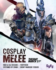 cosplay melee poster